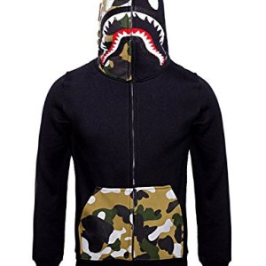 Mens Hoodies Sweatshirt Fashion Casual Coat Outdoor
