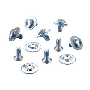 SNOWBOARD BINDING SCREW SET(silver color)