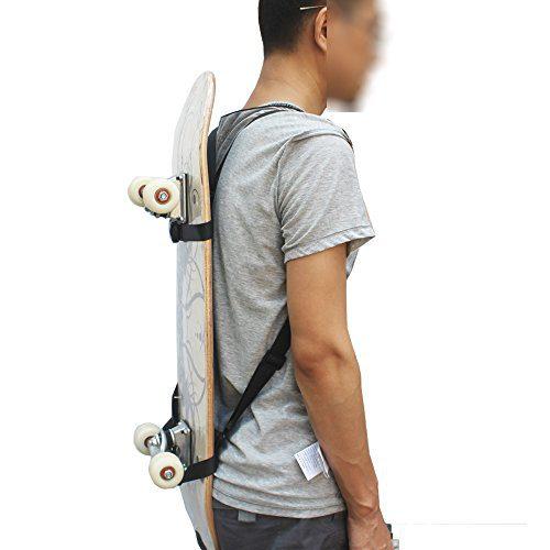 Carrier Skateboard Backpack Strap