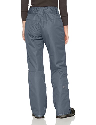 Arctix Women's Insulated Snow Pant Insulation: 85 Grams ThermaTech protection that keeps warmth in and chilly out  Adjustable midriff for an agreeable fit.Adjustable midsection enables the gasp to fit easily paying little heed to layers  600 Denier Ballistic are utilized to fortify the lower leg, scrape and trim watchmen to hold up against day by day wear and tear  Dobby Shell with W/R + W/P 3000mm ThermaLock Coating  210T Taffeta lining  Machine Wash