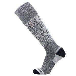 Alpaca Ski Socks – Warm Wool Ski Sock for Men and Women – Skiing, Snowboarding, Cold Weather, Winter – Made in USA
