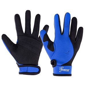 Reef Gloves Stretchy Mesh with Reinforced Leather