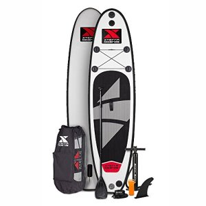 XTERRA Boards Inflatable 10' Stand Up Paddle Board Premium SUP Bundle