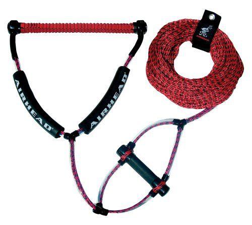 Wakeboard Rope, Phat Grip, Trick Handle, Red