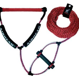 Wakeboard Rope, Phat Grip, Trick Handle, Red
