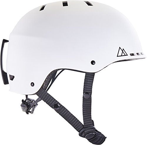 Traverse Vigilis 2-in-1 Convertible Ski & Snowboard/Bike & Skate Helmet with Mini Visor 14 vents for extreme temperature direction with unflinching ABS shell outside and firm, stun retentive EPS interior  Adjustable dial to redo fit  Removable extravagant ear protectors for warmth and protection  Goggle clasp to keep eyewear attached  Replaceable froth pieces to change into bicycle helmet  There is an ErgoKnob Adjustable Dial fundamental to the plan of the Vigilis protective cap. A straightforward one-gave spot of the dial, clockwise to fix and counter-clockwise to slacken, will contract and grow the plastic system incorporated with the helmet.