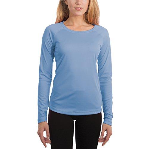 Vapor Apparel Women's UPF 50+ UV/Sun Protection Long Sleeve T-Shirt