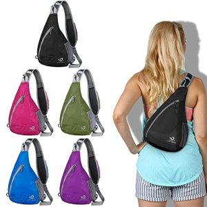 Sling Chest Backpacks Bags Crossbody Shoulder Triangle Packs Daypacks for Cycling Walking