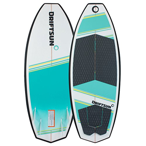 "Driftsun Throwdown Wakesurf Board - 4' 8"" Custom Surf Style Wakesurfer"