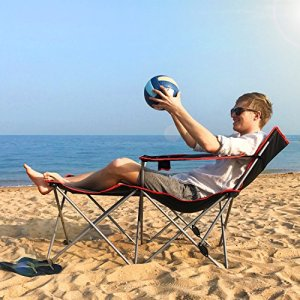 ALLCAMP folding Camping Chairs beach Outdoor Patio Folding Recliner Portable Camping Sleeping
