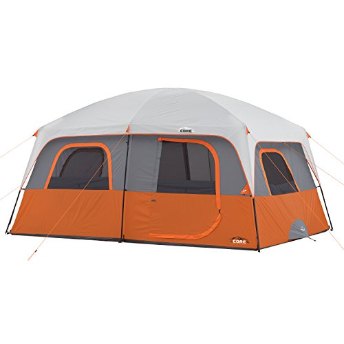 CORE 10 Person Straight Wall Cabin Tent - 14' x 10'