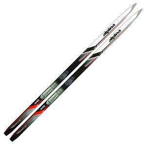 Alpina Sports Youth Energy Junior Nordic Touring Skis with Nis Binding Mounting Plates Installed, 110cm