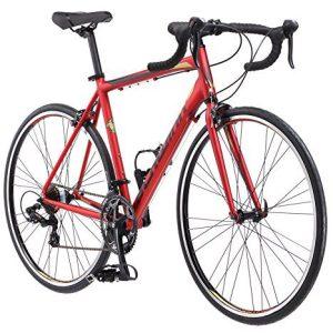 Schwinn Volare 1400 Road Bike, 700c/28 inch wheel size, red, Fitness Bicycle, 53cm/Medium Frame Size
