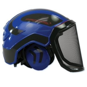 Protos Pfanner Helmet - Blue & Grey