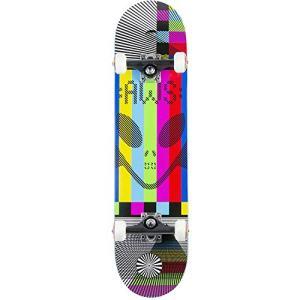 "Alien Workshop Videolog White/Rainbow Complete Skateboard - 7.75"" x 31.25"""