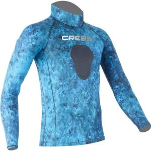 Cressi Camouflage Rash Guard for Scuba Diving