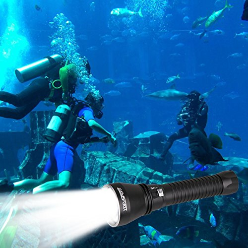 Powerful Underwater Waterproof Led Scuba Diving Flashlight