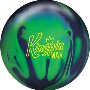 Brunswick Kingpin Max Bowling Ball Navy/Green/Light Blue