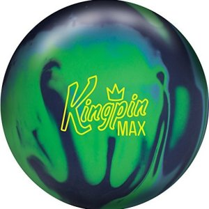 Brunswick Kingpin Max Bowling Ball Navy/Green/Light Blue