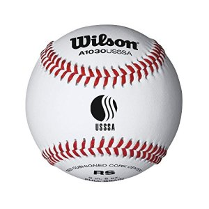 Wilson League Series Baseball (12-Pack), White