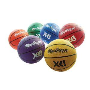 MacGregor Multicolor Basketballs (Set of 6)