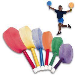 "BSN Foam Paddles - Badminton - 12"" Handle"
