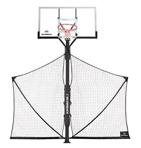 Basketball Yard Guard Defensive Net System Rebounder with Foldable Net