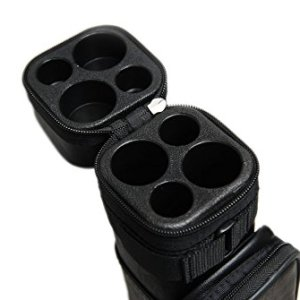 2x2 Hard Square Pool Cue Billiard Stick Carrying Case