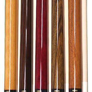 Aska Billiard Pool Sticks Set of 5 Sneaky Pete Pool Cues