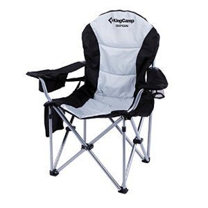 KingCamp Camping Chair Heavy Duty Lumbar Back Support