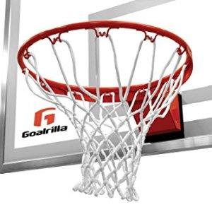 Goalrilla Heavy-Weight Pro-Style Breakaway Basketball Flex Rim