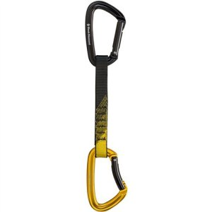Black Diamond Positron Quickdraw Black/Yellow, 16cm