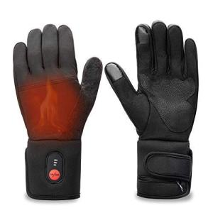 Sun Will Rechargeable Electric Battery Heated Riding Thin Gloves Liners for Men Women Hand Warmer Arthritis Raynaud's Unisex