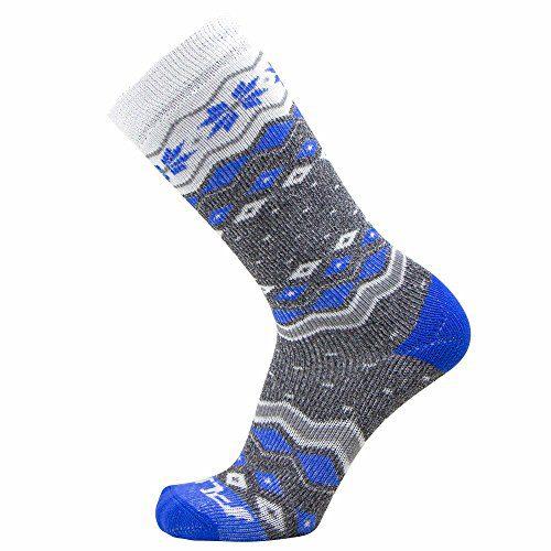 Kids Ski Socks - Warm Skiing Snowboard Sock for Boys and Girls, Merino Wool