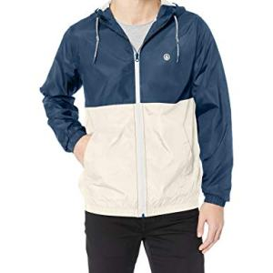 Volcom Men's Volco Ermont Hooded Windbreaker Jacket