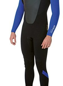 Billabong Intruder 5/4mm GBS Back Zip Wetsuit in Black - Mens - Perfect Full Suit for Winter and Cold Conditions