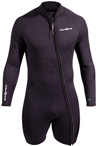 NeoSport Men's Premium Neoprene 5mm Waterman Wetsuit Jacket