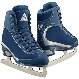 Jackson Ultima Softec Vista ST3200 Figure Ice Skates for Women/Color: Navy, Size: Adult 7