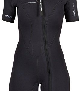 Henderson Women's 3mm Thermoprene Pro Front Zip Shorty Wetsuit