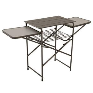 Eureka! Camp Kitchen Camping Cooking Table and Shelf, One Size