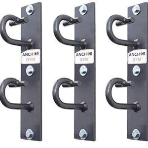 Anchor Gym- CORE Station: Workout Wall Mount Anchor | Wall, Ceiling Mounted Hook Exercise Station for Suspension Straps, Resistance Bands, Strength Training, Yoga, Home Gym