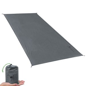 GEERTOP 1-4 Person Ultralight Waterproof Tent Tarp Footprint Ground Sheet Mat, for Camping, Hiking, Picnic