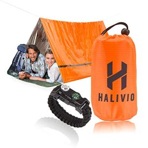 Halivio Emergency Tent for Emergency Shelter- Survival Tent Bivy