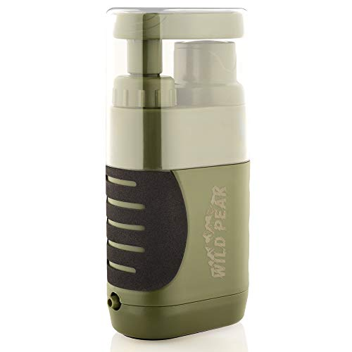 Outdoor Tactical 4-Stage Water Filter Emergency Pump   Wild Peak Survival filters are an ideal support for emergency conditions. It is necessary when tenting, mountain climbing, mountaineering, searching, trekking, backpacking, biking, boating, automobile rides, out of doors journeys and wilderness adventures. Your package can by no means be too ready. Trade main move charge of .369 gallons (1,400ml) per minute. Can be utilized immediately from contemporary water supply, pumped into the connected cup, or pumped into any hydration container. 0.01-Micron (minimal) carbon filter bodily removes 99.99% of all micro organism, comparable to salmonella, cholera and E.coli; removes 99.9% of all protozoa, comparable to giardia and cryptosporidium. Successfully filters as much as 5,000 liters (1,320 gallons) through a hole fiber UF membrane and coconut shell activated carbon. BPA free and meets all USA EPA consuming water requirements. That is excellent and sensible reward for your folks or family members. Get your loved ones members and mates well-prepared earlier than any emergencies, train your youngsters survival expertise, create enjoyable and academic actions in the course of the vacation season with our skilled designed and authorized survival straws.   Wild Peak's Alive-3 was designed to go with you anyplace that native water could also be unsafe. It's good for Tenting, Climbing, Searching, Pure Disasters and World Touring. For each out of doors fans or catastrophe survivor, you want clear water to maintain life. The Alive-3 makes use of 4 phases. The primary stage is the PP cotton which removes massive contaminants. Subsequent is a hole fiber UF membrane then anti-bacterial beads and final activated carbon filters comprised of coconut shell. The 0.01-micron filter successfully removes 99.9999% of all micro organism, comparable to salmonella, cholera, E.coli and removes 99.9% of all protozoa, comparable to giardia and cryptosporidium. Whether or not you depend on a mun