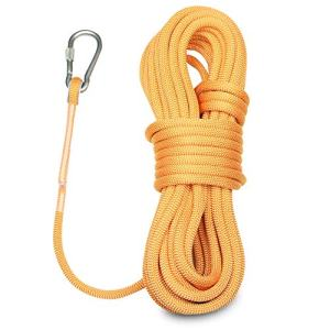 CragPro Static Climbing Rope,10.5mm x 20m UIAA Certified Outdoor Rappelling Cord
