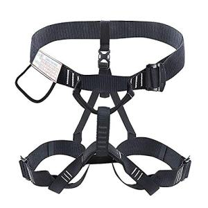 YaeCCC Climbing Harness Work Safety Belt Mountaineering Rock Climbing Harness Rappelling Safety Harness