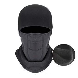FSIGOM Windproof Balaclava Face Ski Mask,Winter Hat Outdoors Helmet Liner Mask, Suitable for Skiing Motorcycle Bicycle Climbing,Black