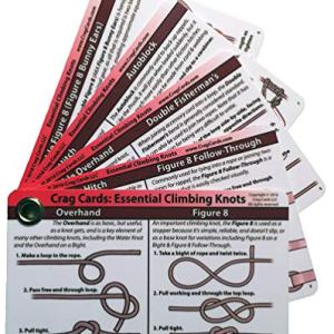 Crag Cards: Essential Climbing Knots