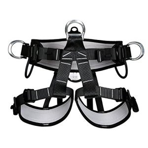 HaoFst Pro Tree Carving Fall Protection Rock Climbing Equip Gear Rappelling Harness