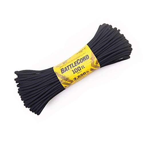 Atwood Rope MFG 5.6MM BattleCord 100 Feet - 2650lb Tensile Strength